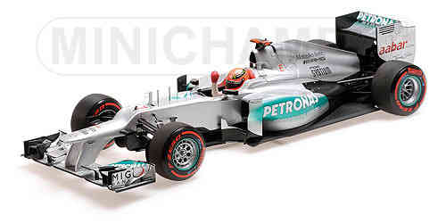 Mercedes F1 W03 M. Schumacher Pole GP Monaco 2012 1/18 Minichamps
