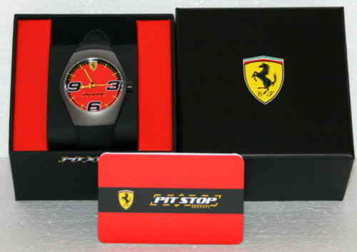 Orologio Ferrari PITSTOP watch steel case