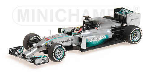 MERCEDES AMG PETRONAS W05 L. HAMILTON WORLD CHAMPION  2014 1/43