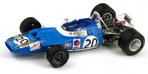Matra MS80 Winner GP Italy 1969 J.Stewart 1/18