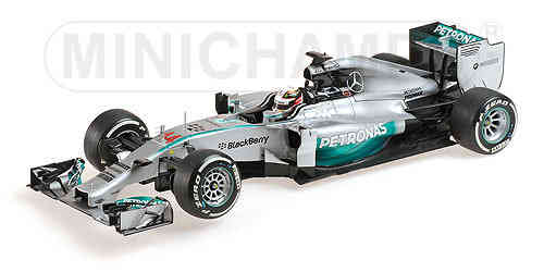 Mercedes F1 W05 World Champion  2014 L.Hamilton 1/18