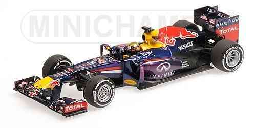 RED BULL RB9 S. VETTEL WINNER GERMAN GP WORLD CHAMPION F1 2013 1/43