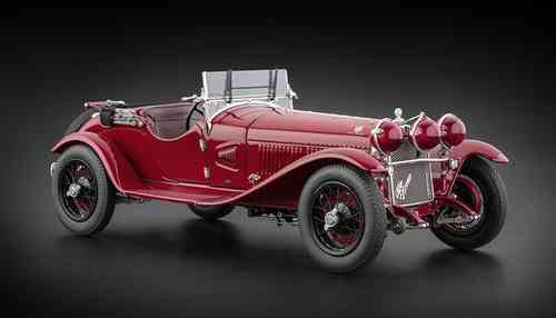 ALFA ROMEO 6C 1750 GS 1930 RED 1/18
