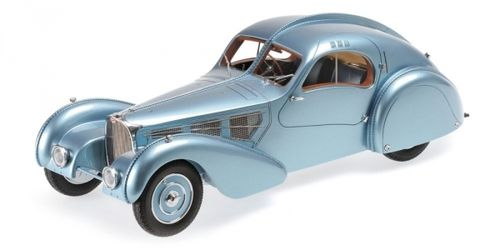 BUGATTI TYPE 57SC ATLANTIC 1936 BLUE METALLIC 1/18