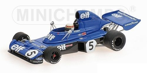 TYRRELL FORD 006 J. STEWART WINNER GERMAN GP WORLD CHAMPION F1 1973 1/43