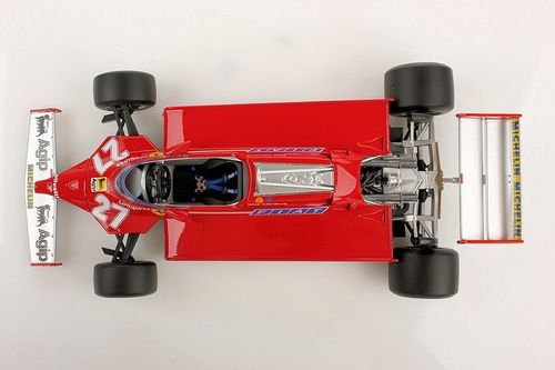 Ferrari 126CK GP SPAIN 1981 G.Villeneuve 1/18 LS18RC02 Looksmart