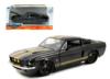 FORD MUSTANG GT 2006 GRAY/GOLD 1:24