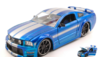 FORD MUSTANG GT 2006 BLUE/SILVER 1:24