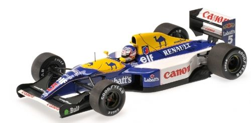 WILLIAMS RENAULT FW14B NIGEL MANSELL 1992 1/18