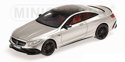 BRABUS 850 AUF BASIS MERCEDES AMG S63 COUPE' 2015 GREY METALLIC 1/43