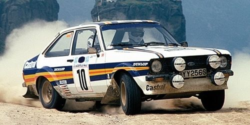 FORD ESCORT II RS1800 CASTROL VATANEN RICHARDS WINNER ACROPOLIS RALLY 1980 1/43