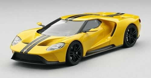 FORD GT YELLOW LOS ANGELES AUTO SHOW 2015 1/43