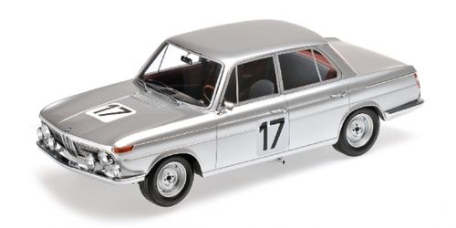BMW 2000 TI ICKX HAHNE WINNER 24H SPA 1966 1/18