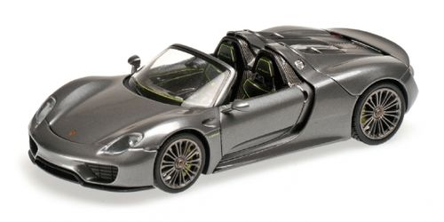 PORSCHE 918 SPYDER FINAL 2013 GREY METALLIC 1/43