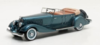 CHRYSLER IMPERIAL CUSTOM FIVE-PASSENGER PHAETON 1933 LIGHT BLUE LIM.408 1/43