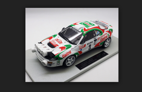 TOYOTA CELICA GT4 st 185 - n. 3 - MC Rally Winner 1993