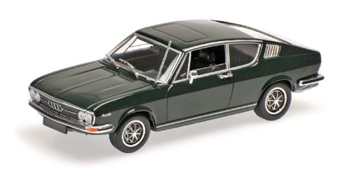 AUDI 100 COUPE' S 1969 DARK GREEN 1/43