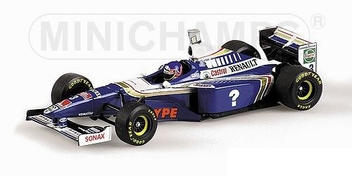 WILLIAMS RENAULT FW19 JACQUES VILLENEUVE WORLD CHAMPION FORMULA 1 1997 1/43