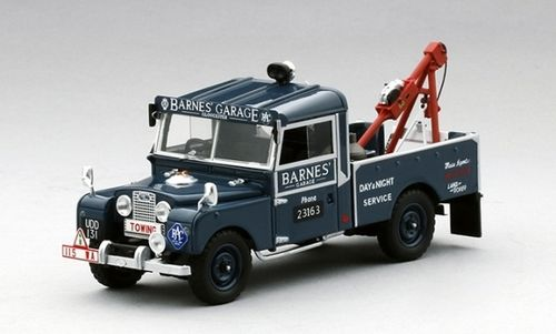 LAND ROVER SERIES I 107 RECOVERY TRUCK BARNES GARAGE 1/43
