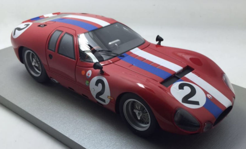 "MASERATI TIPO 150/3 N.2 DNF LM 1963 A.SIMON-LLOYD ""LUCKY"" CASNER 1:18"