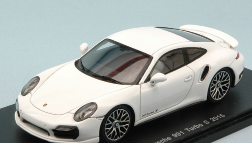 PORSCHE 991 TURBO S 2015 WHITE 1:43
