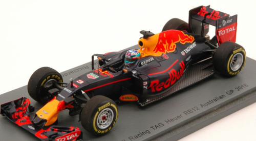 RED BULL RB12 D.RICCIARDO 2016 N.3 4th AUSTRALIAN GP 1:43