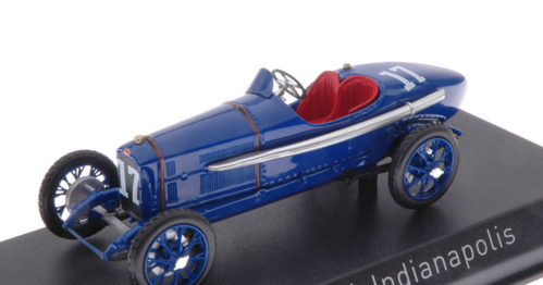 PEUGEOT 3L N.17 23th INDIANAPOLIS 1920 A.BOILLOT 1:43