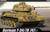T-34 747 (R) GERMAN VERSION KIT 1:35