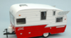 ROULOTTE SHASTA 15' AIRFLYTE WHITE/RED 1:24