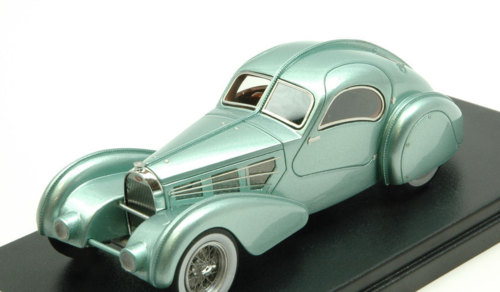 BUGATTI TYP 57S COMPETITION COUPE' AEROLITHE 1935 MET.LIGHT GREEN 1:43