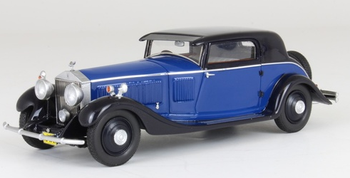 ROLLS ROYCE GHOST II CONTINENTAL WINDOVER 1932 1:43