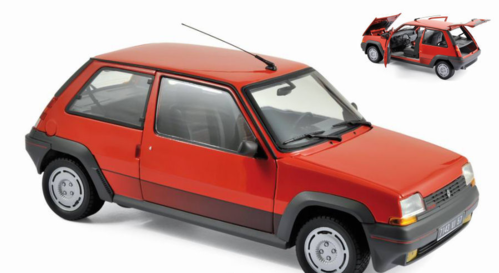 RENAULT SUPERCINQ GT TURBO 1986 RED 1:18
