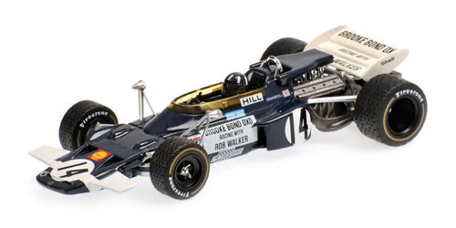 LOTUS FORD 72 GRAHAM HILL MEXICAN GP 1970 1/43