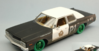 DODGE MONACO 1974 BLUES BROTHERS 1980 GREEN WHEELS (LIMITED) 1:24