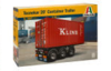 TECNOCAR 20' CONTAINER TRAILER KIT 1:24