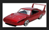 DOM'S DODGE CHARGER DAYTONA FAST & FURIOUS 7 METALLIC RED 1:24