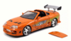 BRIAN'S TOYOTA SUPRA FAST & FURIOUS ORANGE 1:24
