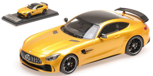 MERCEDES AMG GT R 2017 SOLARBEAM 1/43   ALMOST REAL