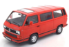 VW BUS T3 1993 RED 1:18