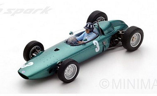 BRM P57 G.HILL 1962 N.3 WINNER SOUTH AFRICAN GP WORLD CHAMPION 1:18