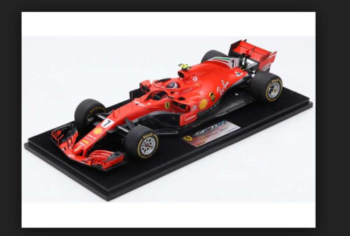 FERRARI SF71H US GP 2018 Kimi Raikkonen Winner 1:18