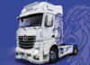 MERCEDES ACTROS MP4 GIGASPACE KIT 1:24