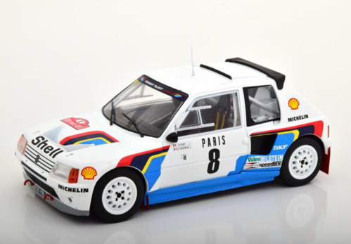 PEUGEOT 205 T16 N.8 5th RALLY MONTE CARLO 1985 SABY-FAUCHIILLE 1:18
