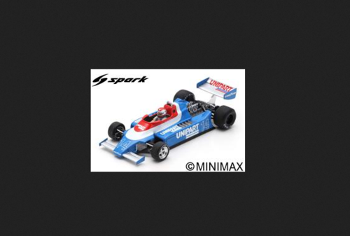 ENSIGN N180 CLAY REGAZZONI 1980 N.14 BRAZILIAN GP 1:43