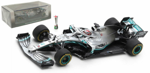 MERCEDES F1 W10 Winner Chinese Gp 2019-LEWIS HAMILTON SCALA 1/43 1000th GP Mercedes
