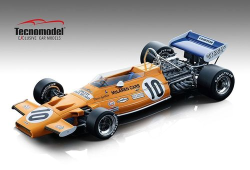 MCLAREN M19A N.10 FRENCH GP 1971 PETER GETHIN 1:18