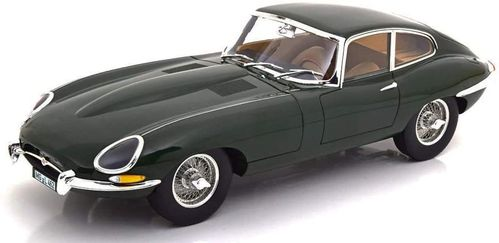 JAGUAR E-TYPE COUPE 1962 GREEN 1:12 Norev 122710