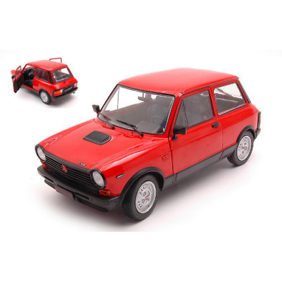Autobianchi A11 MK5 ABARTH 1980 RED 1/18